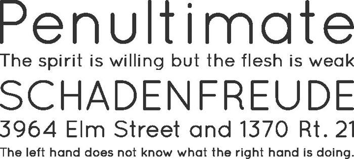 quicksand Free font