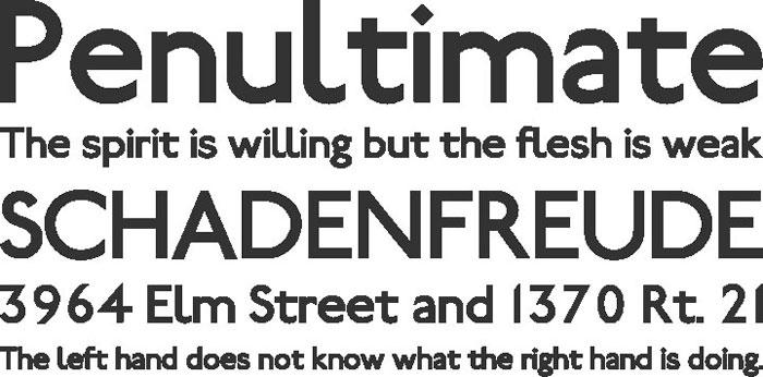 railway Free font
