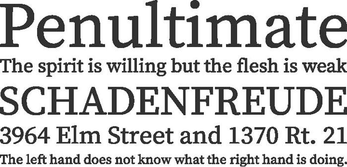 Source Serif Pro Free font