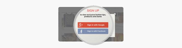 Google+ Social login API docs