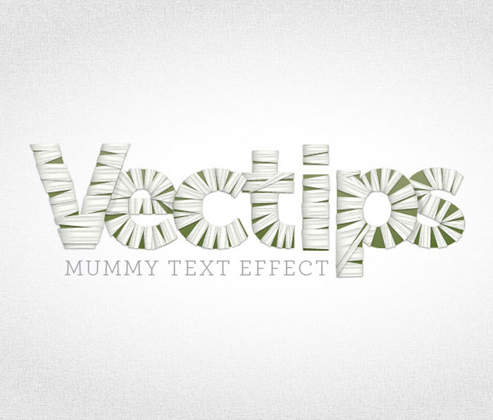 how to create spiral effect of text
