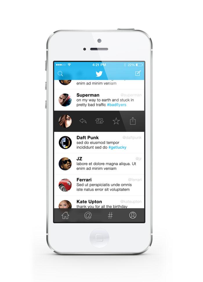 Twitter iOS7