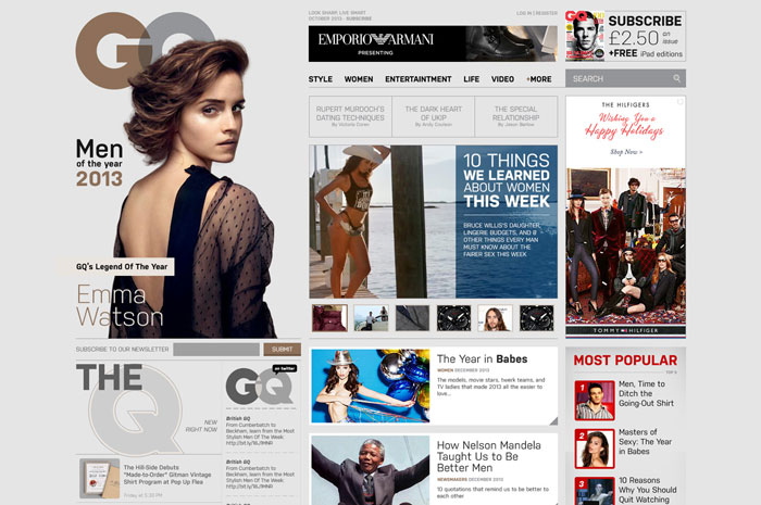 GQ Unsolicited Redesign