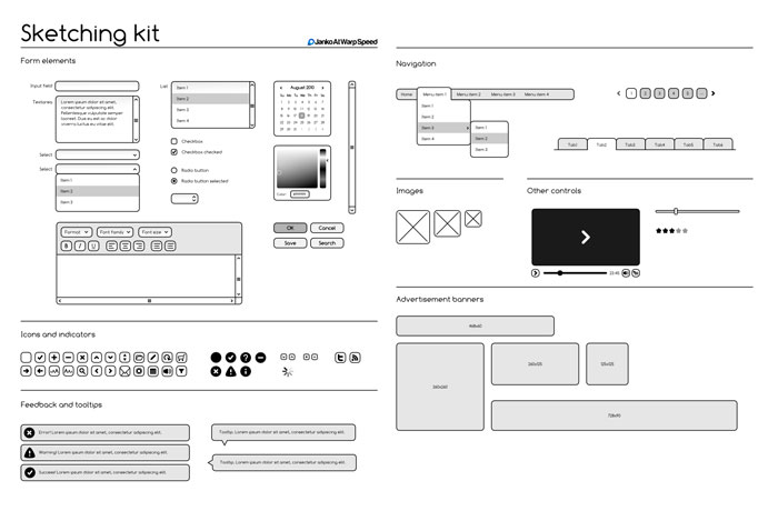selected wireframes templates that are free. Black Bedroom Furniture Sets. Home Design Ideas