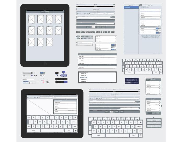 iPad Sketch Elements AI