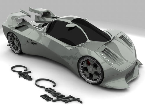 Akiom Concept Car 3D model
