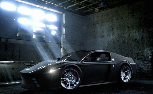 Concept Car Design V2 3D model