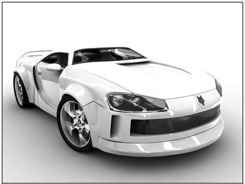 Concept Car Brute 3D model