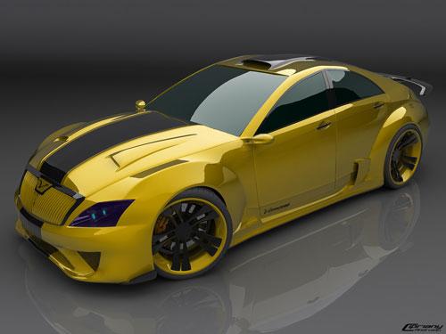 Venom concept car 3D model