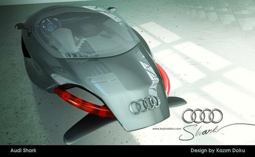 audi car design concept 3D model