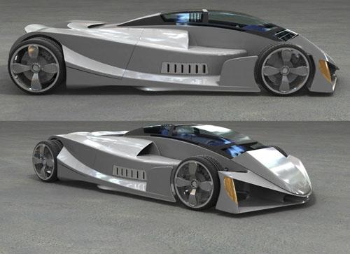 dwt concept car 3D model