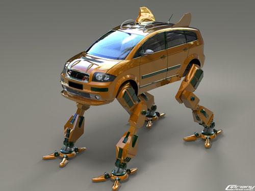 robo car 3D model