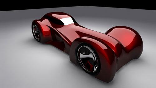 Triton Car Concept 3D model