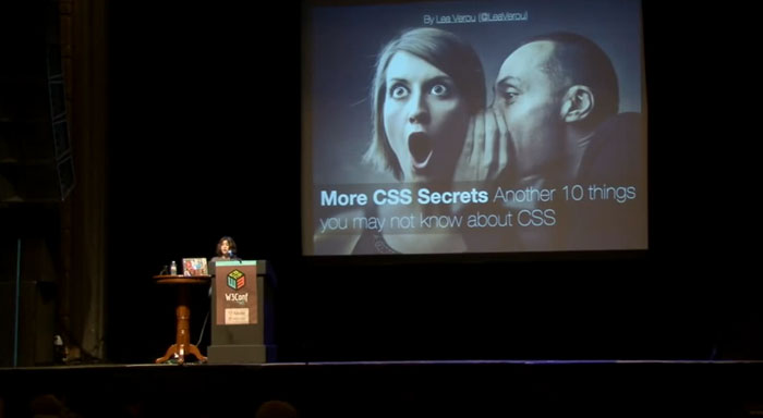 Lea Verou, More CSS Secrets: Another 10 things you may not know about CSS