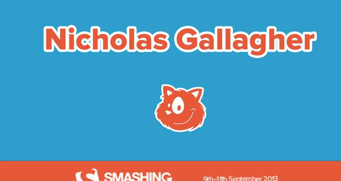 Nicolas Gallagher — CSS Application Architecture