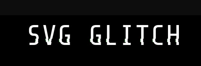 SVG Glitch