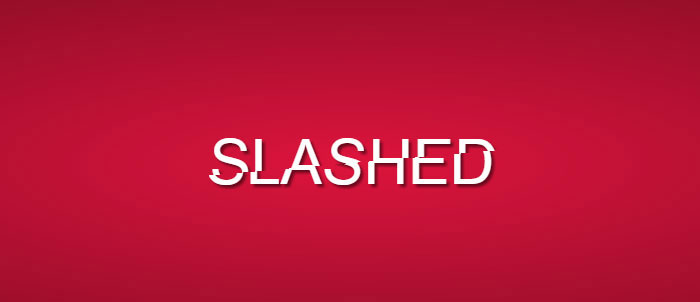 Slashed CSS Effect