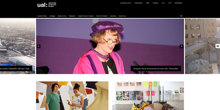 arts_ac_uk Great school website design: 51 Academic websites