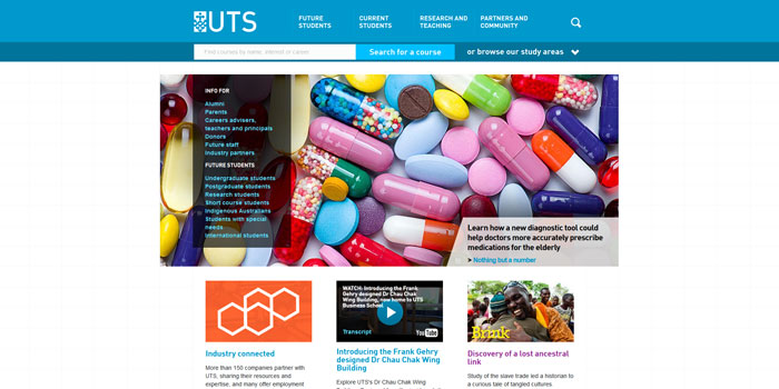 uts_edu_au Great school website design: 51 Academic websites