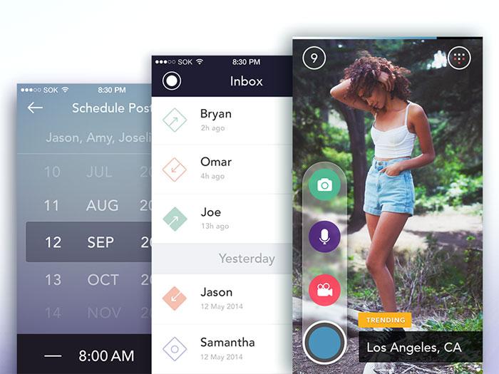 App Screens User Interface Inspiration
