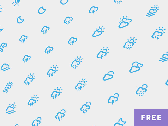 Dripicons - Weather (Free Iconset)