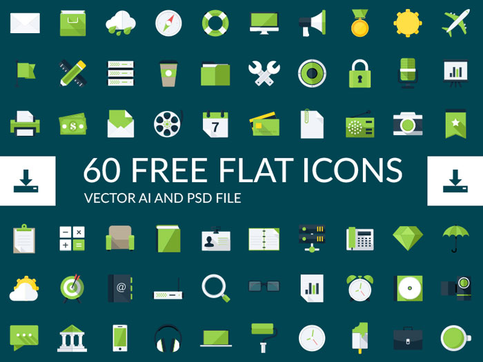 Freebie - Flat Icons