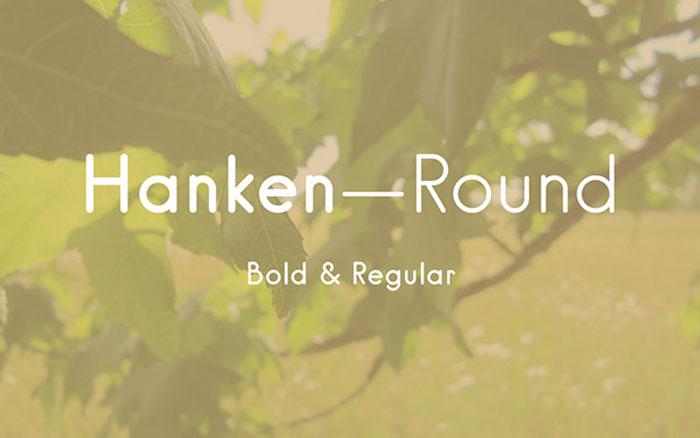 Hanken Round Free Font