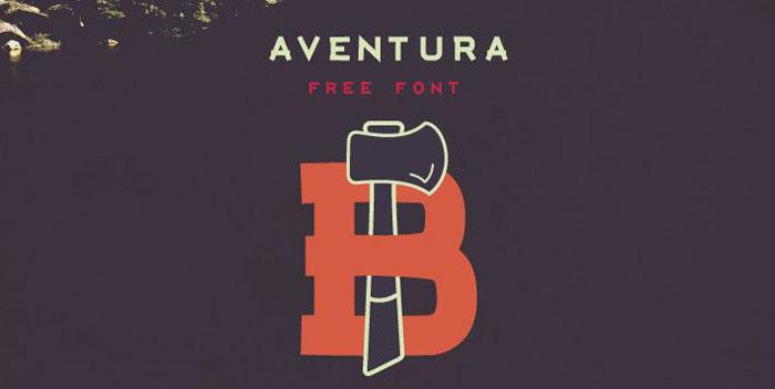 AVENTURA - Free Typeface