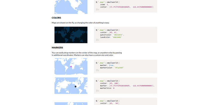 Mikefowler Me Smallworld Js A Collection Of Jquery Maps Plugins