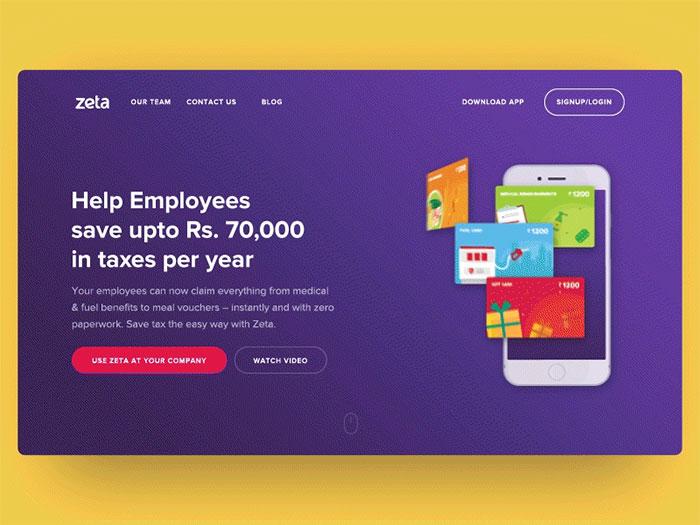 Zeta Website