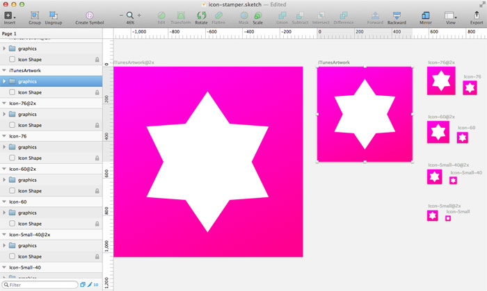 Sketch Icon Stamper Plugin