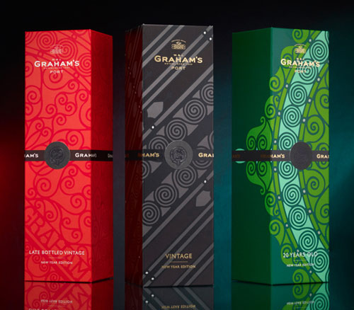 Graham's New Year Edition Package Design