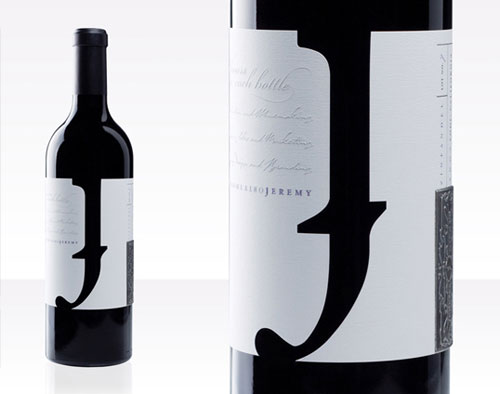 Jeremy Wine Co. Package Design