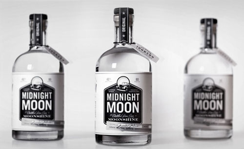 Midnight Moonshine Package Design