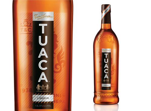 Tuaca Package Design