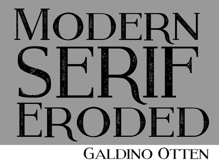 Modern Serif Eroded Cool Fonts 100 Free And Unique To Download