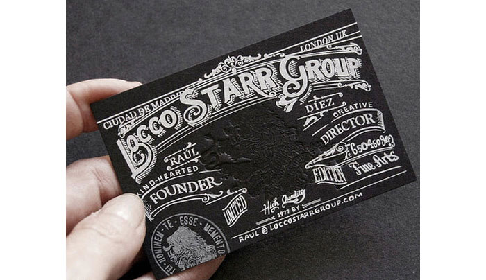 best business card designs 300 cool examples and ideas