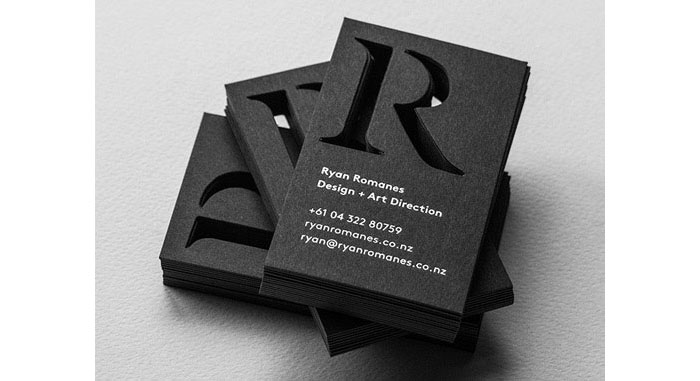 Best business card designs 300 cool examples and ideas ryan romanes best business card designs 300 cool examples and ideas reheart Images