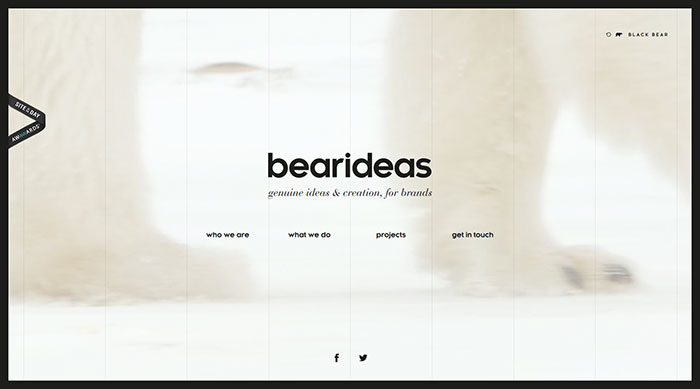 bearideas_fr Cool Website Designs: 48 Great Website Design Examples