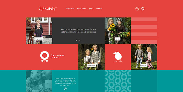 katvig_dk_en Cool Website Designs: 48 Great Website Design Examples