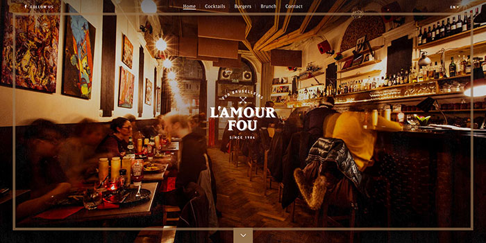 lamourfou_be_en Cool Website Designs: 48 Great Website Design Examples