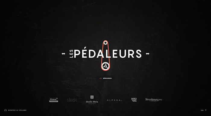 lespedaleurs_com Cool Website Designs: 48 Great Website Design Examples