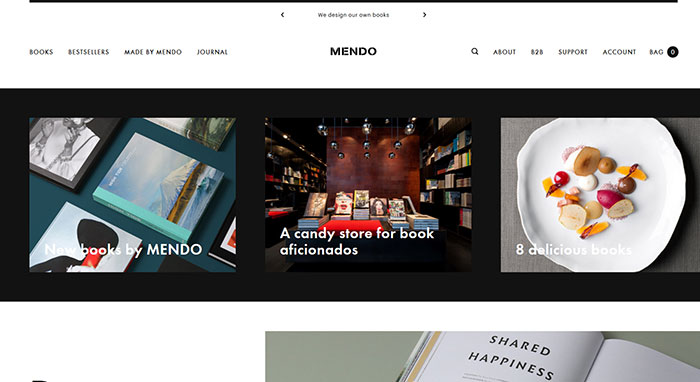 mendo_nl Cool Website Designs: 48 Great Website Design Examples