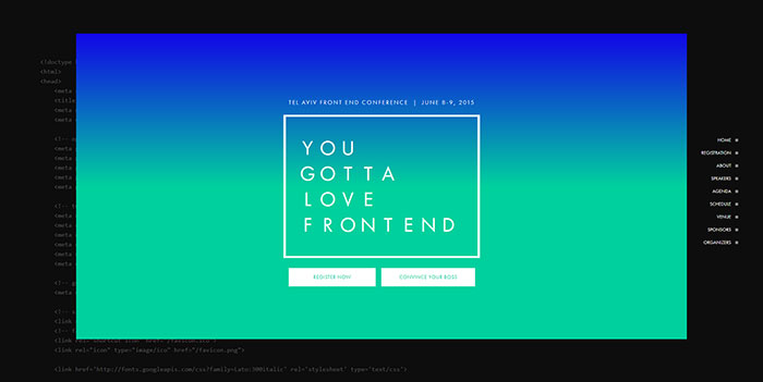 cool website designs