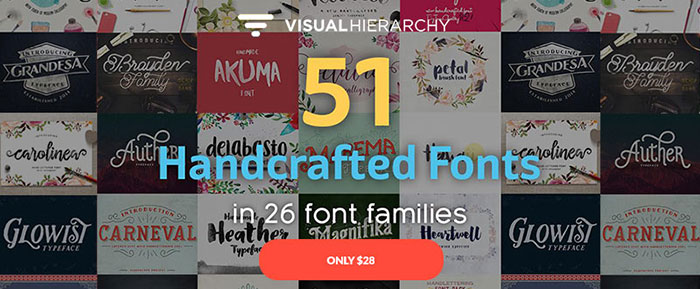 Huge Bundle with Amazingly Cool Fonts