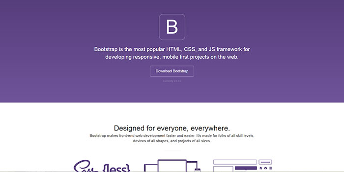 23 of the best css and html frameworks available to download getbootstrapcom 23 of the best css and html frameworks available to download malvernweather Images