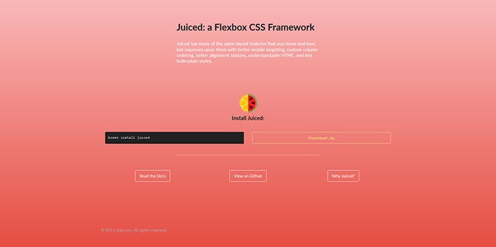 23 of the best css and html frameworks available to download juicedcsscom 23 of the best css and html frameworks available to download malvernweather Image collections