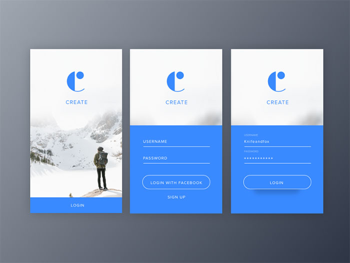 Mobile UI Login Form Design: How To Do It Properly