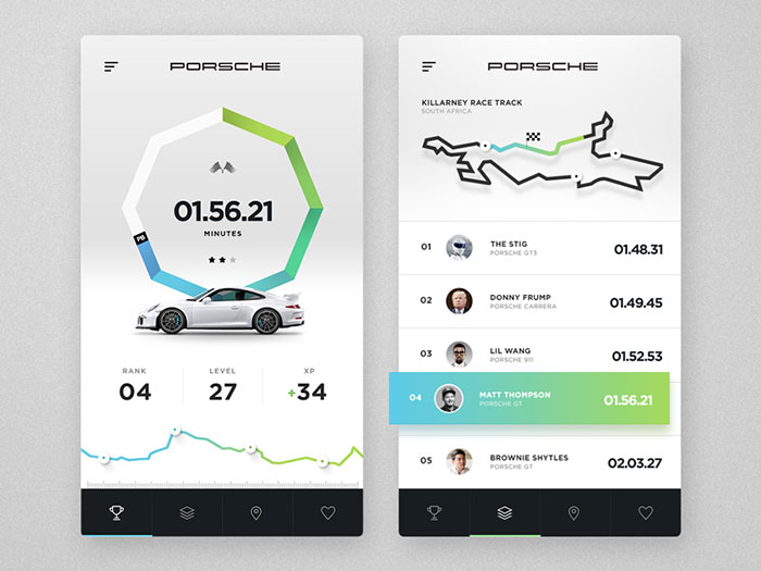 2431650 navigation inspiration for mobile user interfaces 20 designs - Ui Design Ideas