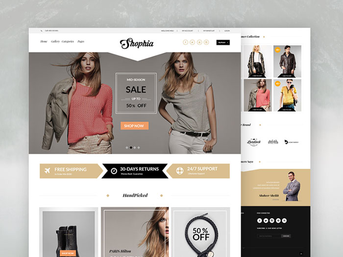 Free PSD Website Templates Available For Download